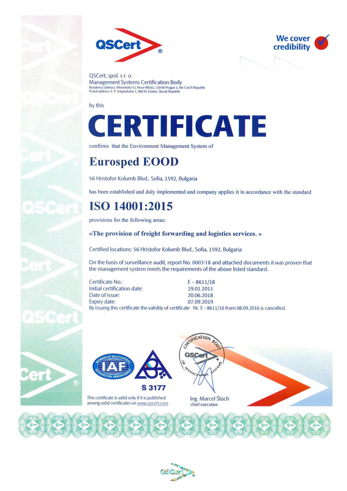 Environment_managment_certificate