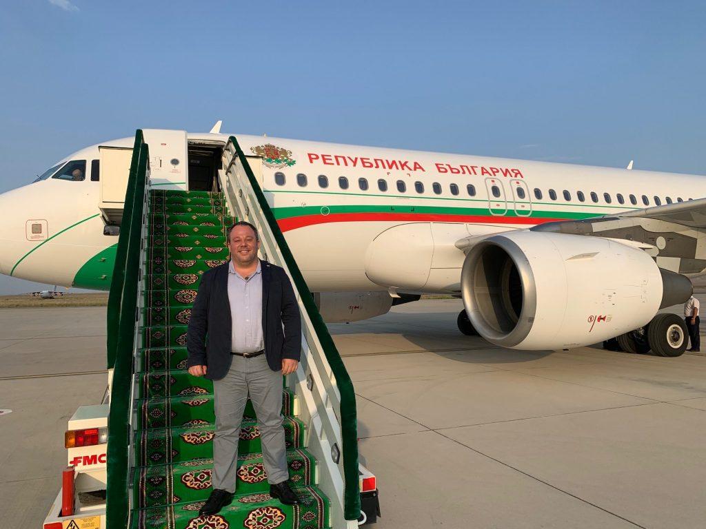 Явор Панталеев - посещение в Турменистан