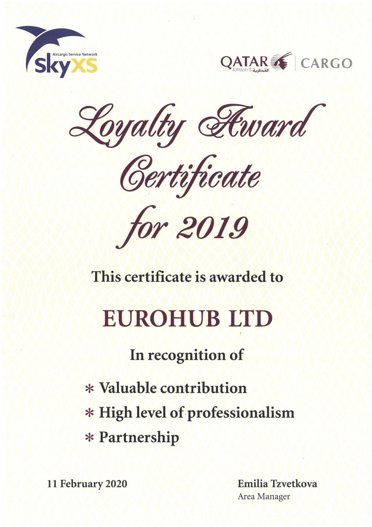euroshub-certificate